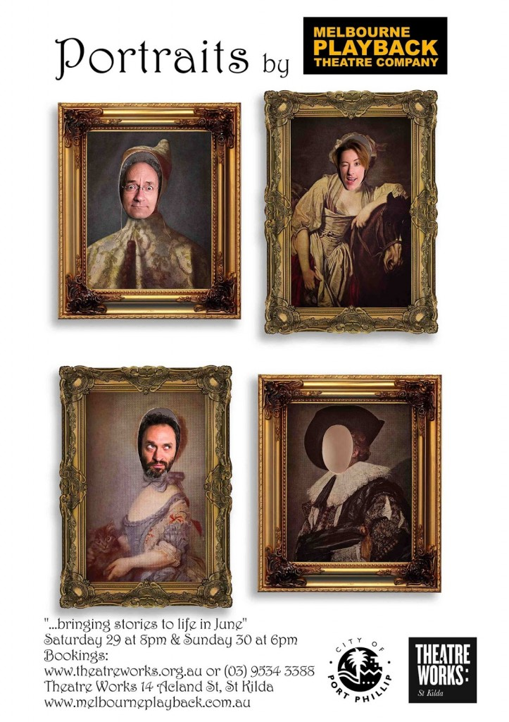 TW portraits small poster